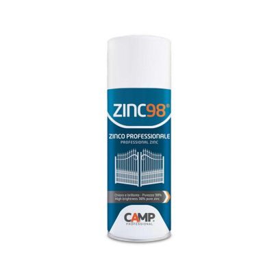 ZINC98 CAMP SPRAY PROTETTIVO ZINCANTE ZINCO SPRAY A FREDDO 400 ml